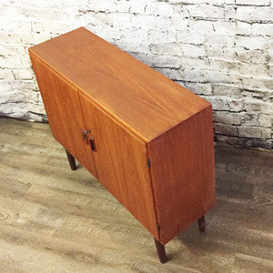 Danish Mid Century Teak Cabinet By Borge Mogensen for Soborg Mobler - Vintage Home Boutique - 2