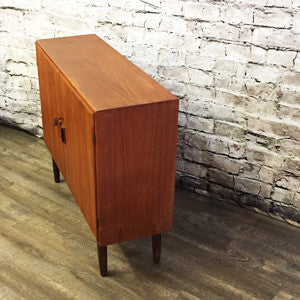 Danish Mid Century Teak Cabinet By Borge Mogensen for Soborg Mobler - Vintage Home Boutique - 3