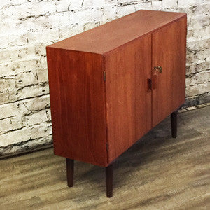 Danish Mid Century Teak Cabinet By Borge Mogensen for Soborg Mobler - Vintage Home Boutique - 4