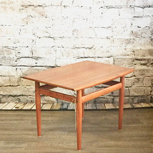 Danish Mid-Century Teak Side Tables by Grete Jalk for Glostrup