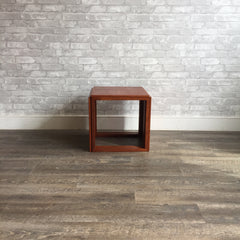"Danish Modern Teak ""Cube"" Nesting Tables By Kai Kristiansen"
