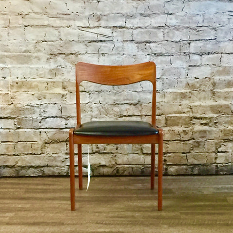 Danish Modern Teak Dining Chairs 6 Available