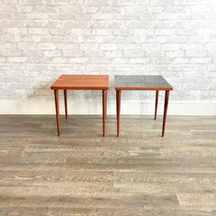 Danish Modern Teak Side Tables by Hans Andersen