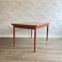 Danish Modern Teak Surfboard Dining Table