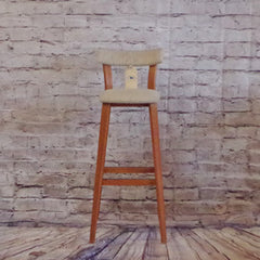 Danish Mid Century Teak Bar Stools by Tarm Stole-Og Mobelfabrik AS - Vintage Home Boutique - 1