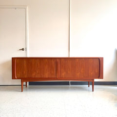 Early Danish Mid-Century Teak Sideboard By Bernhard Pedersen & Son