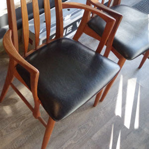 Niels Koefoed Eva Dining Chairs - Vintage Home Boutique - 11