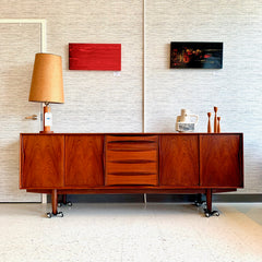 Exceptional Mid-Century Rosewood Sideboard By Dyrlund