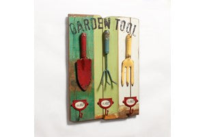 Garden Tool Coat Hanger - Vintage Home Boutique