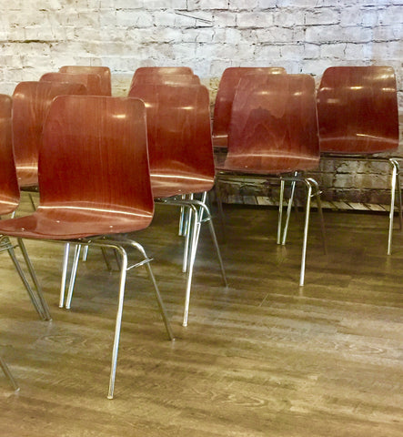 Mid-Century Bent Wood Pagholz Chairs