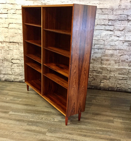 Mid-Century Danish Rosewood Bookshelf by Poul Hundevad Co