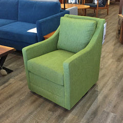 Jeffrey Custom Swivel Chair