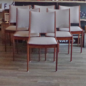 Mid Century Dining Chairs By Johannes Andersen - Vintage Home Boutique - 1