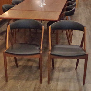 Kai Kristiansen Model 31 Dining Chairs - Vintage Home Boutique - 9