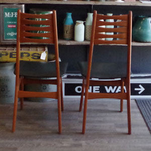 Vintage Teak Dining Chairs by Korup Stolefabrik - Vintage Home Boutique - 5