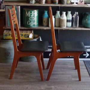 Vintage Teak Dining Chairs by Korup Stolefabrik - Vintage Home Boutique - 3