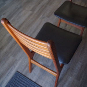 Vintage Teak Dining Chairs by Korup Stolefabrik - Vintage Home Boutique - 6