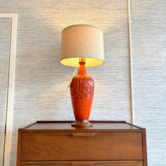 Large Mid-Century Ceramic Table Lamp
