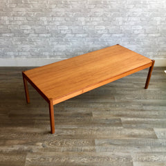 Large Mid-Century Modern Teak Coffee Table