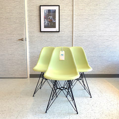 Mid-Century Eames DWSR Style Dining Chairs