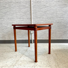 Mid-Century Teak Side Table By Soborg Mobler