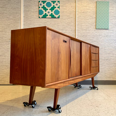 Mid-Century Teak Sideboard By McIntosh