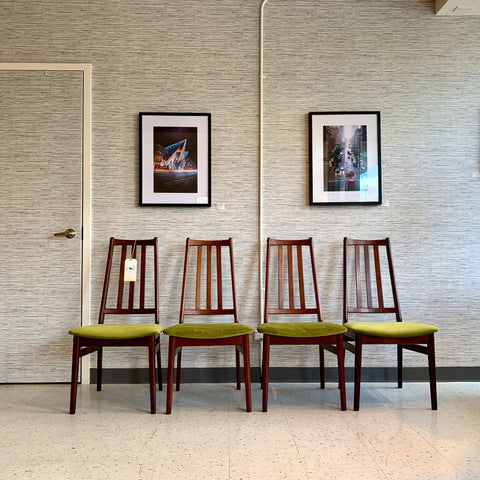 Mid-Century Mahogany Dining Chairs By Dyrlund