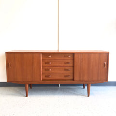 Mid-Century Modern Teak Sideboard By Clausen and Son