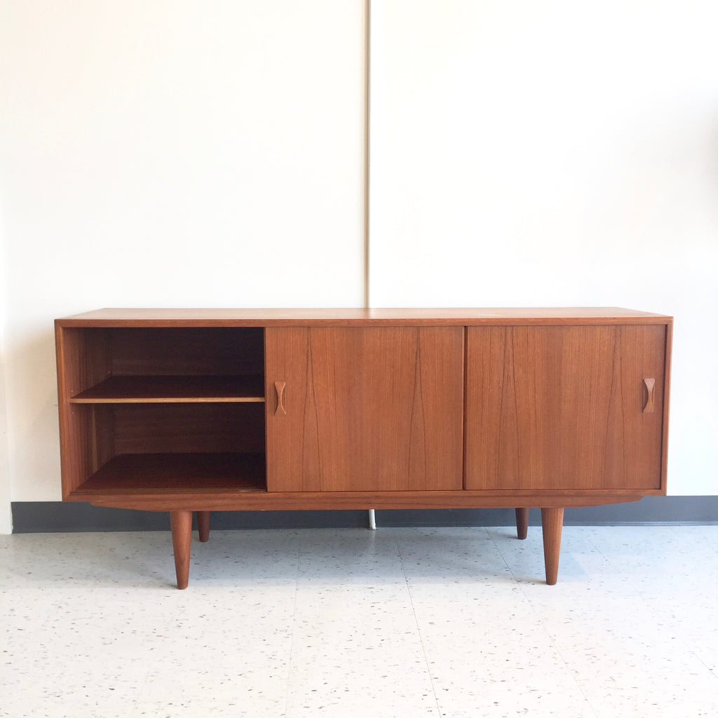 Mid Century Modern Teak Sideboard By Clausen And Son