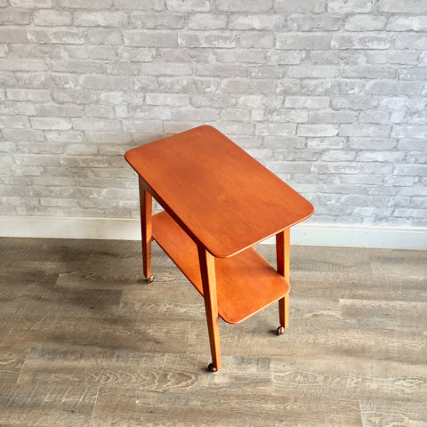 Mid-Century Rolling Bar Cart By Jan Kuypers For Imperial