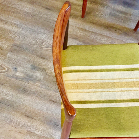 Mid-Century Rosewood Dining Chairs By HW Klein for Bramin