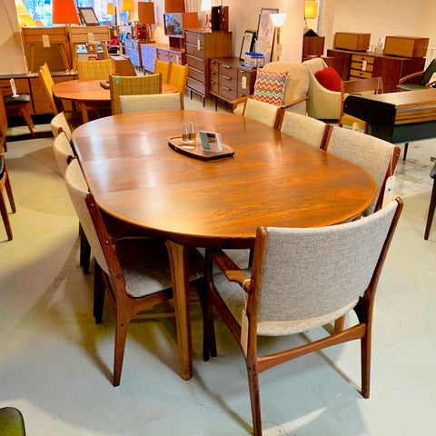Mid-Century Rosewood Dining Chairs by Johannes Andersen