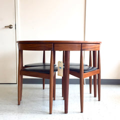 Mid-Century Roundette Dining Set By Hans Olsen For Frem Rojle