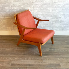 Mid-Century Teak And Oak Armchair By Brockmann Petersen