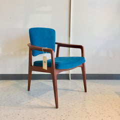 Mid-Century Teak Armchair By Sigvard Bernadotte For France And Daverkosen