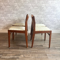 Mid-Century Teak Dining Chairs By Frem Rojle
