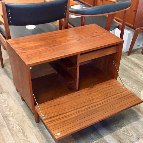 Mid-Century Teak Media Cabinet or TV Stand