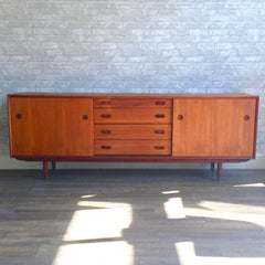 Mid-Century Teak Sideboard by Punch Designs