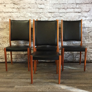 Mid-Century Modern teak dining chairs by Svegards Markaryds - Vintage Home Boutique - 1
