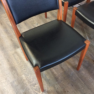 Mid-Century Modern teak dining chairs by Svegards Markaryds - Vintage Home Boutique - 4