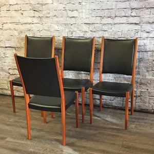 Mid-Century Modern teak dining chairs by Svegards Markaryds - Vintage Home Boutique - 6