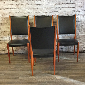 Mid-Century Modern teak dining chairs by Svegards Markaryds - Vintage Home Boutique - 2