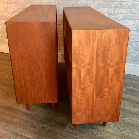 Mid Century Teak Open Back Bookcase Or Room Divider