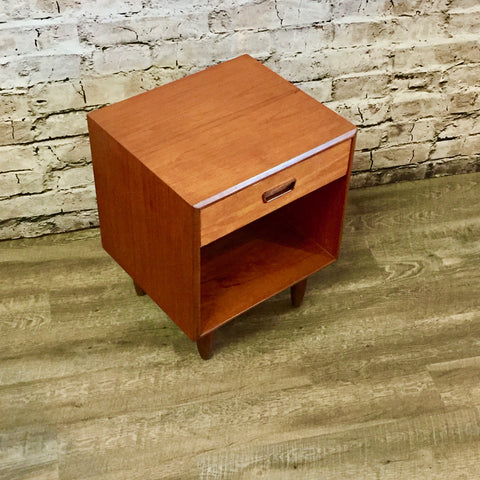 Mid Century Teak Side Table by Punch Designs