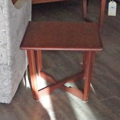 Mid Century Teak Side Tables - Vintage Home Boutique - 1