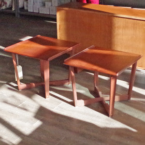 Mid Century Teak Side Tables