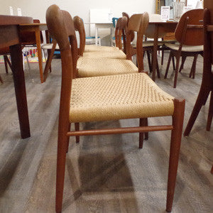 Niels Moller Model 75 Dining Chairs - Vintage Home Boutique - 1