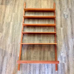 Norwegian Mid-Century Teak Shelving Unit With Desk by Torbjørn Afdal
