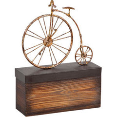 Vintage High Wheel Bicycle Table Decor Sculpture - Vintage Home Boutique