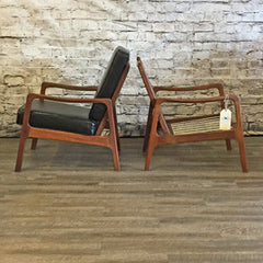 Mid-Century Teak Armchairs in the style of Ole Wanscher